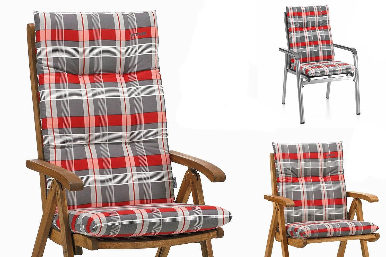 Amazon.de: Kettler Auflagen für Niederlehner Sessel 100x48x8 cm ...