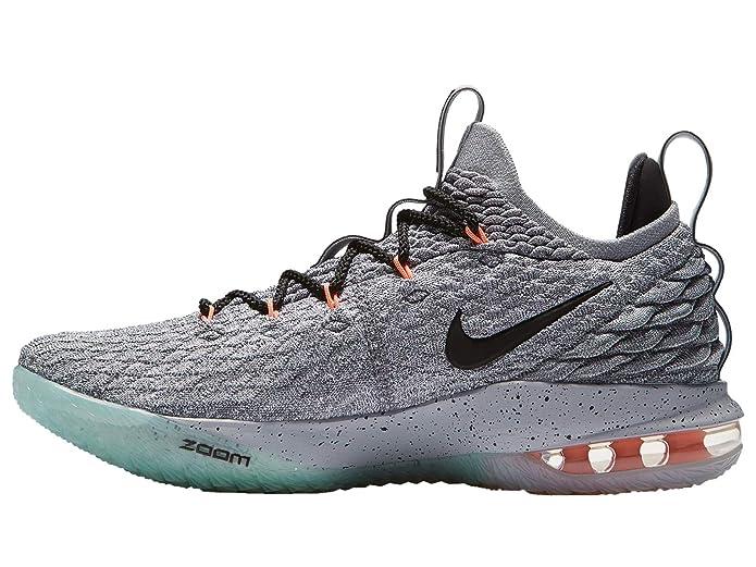 Nike Lebron 15 Low Men's Lebron James Nylon Basketball Shoes 11 D(M) US Grey