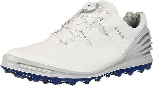 Amazon Com Ecco Men S Cage Pro Boa 2 Gore Tex Golf Shoe Golf