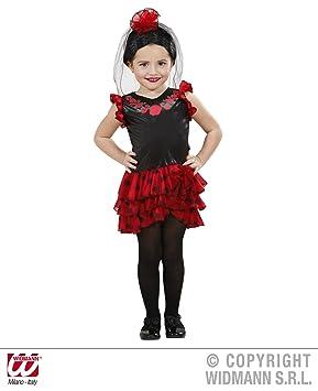 Childrens Senorita Costume Baby 1 2 Yrs 98cm For Spanish Spain