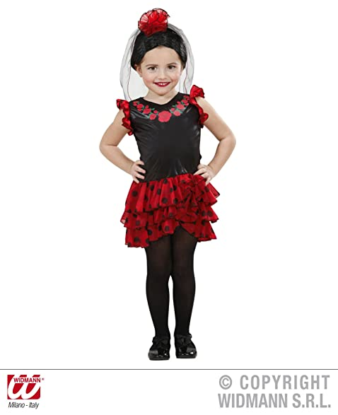 1c9950450 Childrenu0027s Senorita Costume Baby 1-2 Yrs (98cm) For Spanish Spain Fancy  Dress Sc 1 St Amazon.com