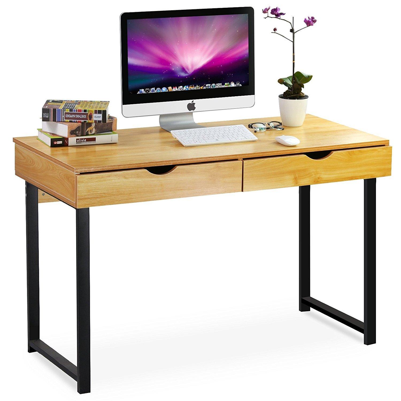 Amazon.com : Tribesigns Computer Desk Modern Stylish 47