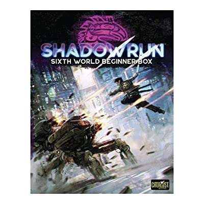 Catalyst Game Labs Shadowrun: Sixth World Beginner Box: Toys & Games