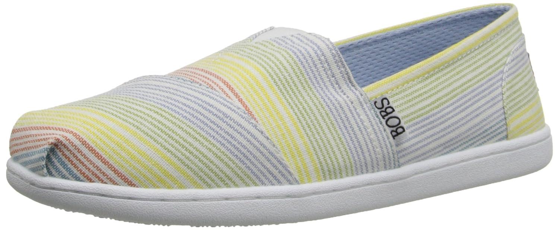 Skechers Bobs Womens Bliss Fashion Slip-On Flat  7 B(M) US|Bunt