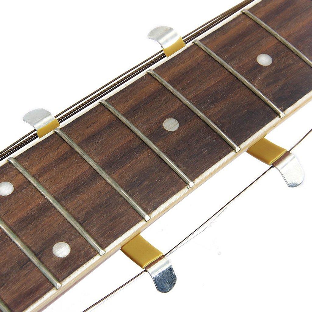 Alnicov 2pcs Luthier Care Tool String Epandeur Pour Nettoyage Fretboard Fret Guitar