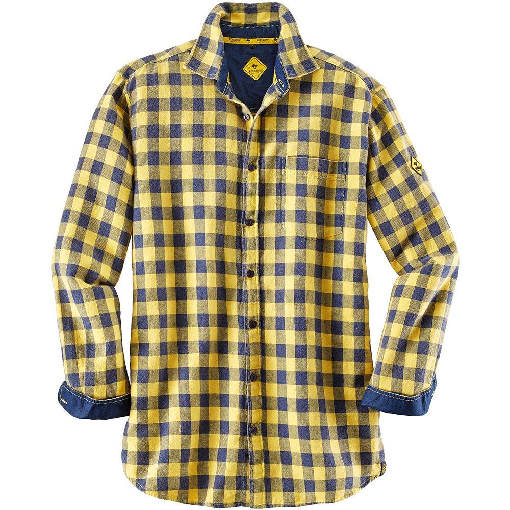 Roadsign 10372-l-9074 Grö ß e L Herren Shirt –  Gelb/Marine Blau