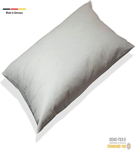 beties Relleno de Plumas, algodón, Beige, 50 x 60 cm: Amazon.es: Hogar