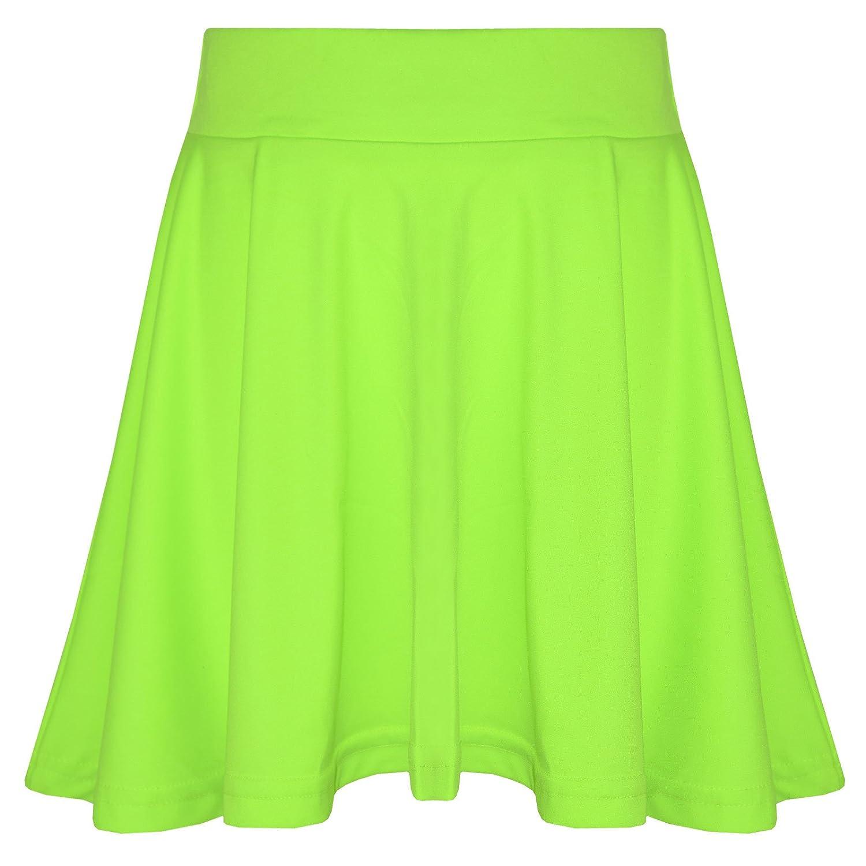 A2Z 4 Kids® Girls Skirts Kids School Fashion Summer Skater Skirt New Age 5 6 7 8 9 10 11 12 13 Years