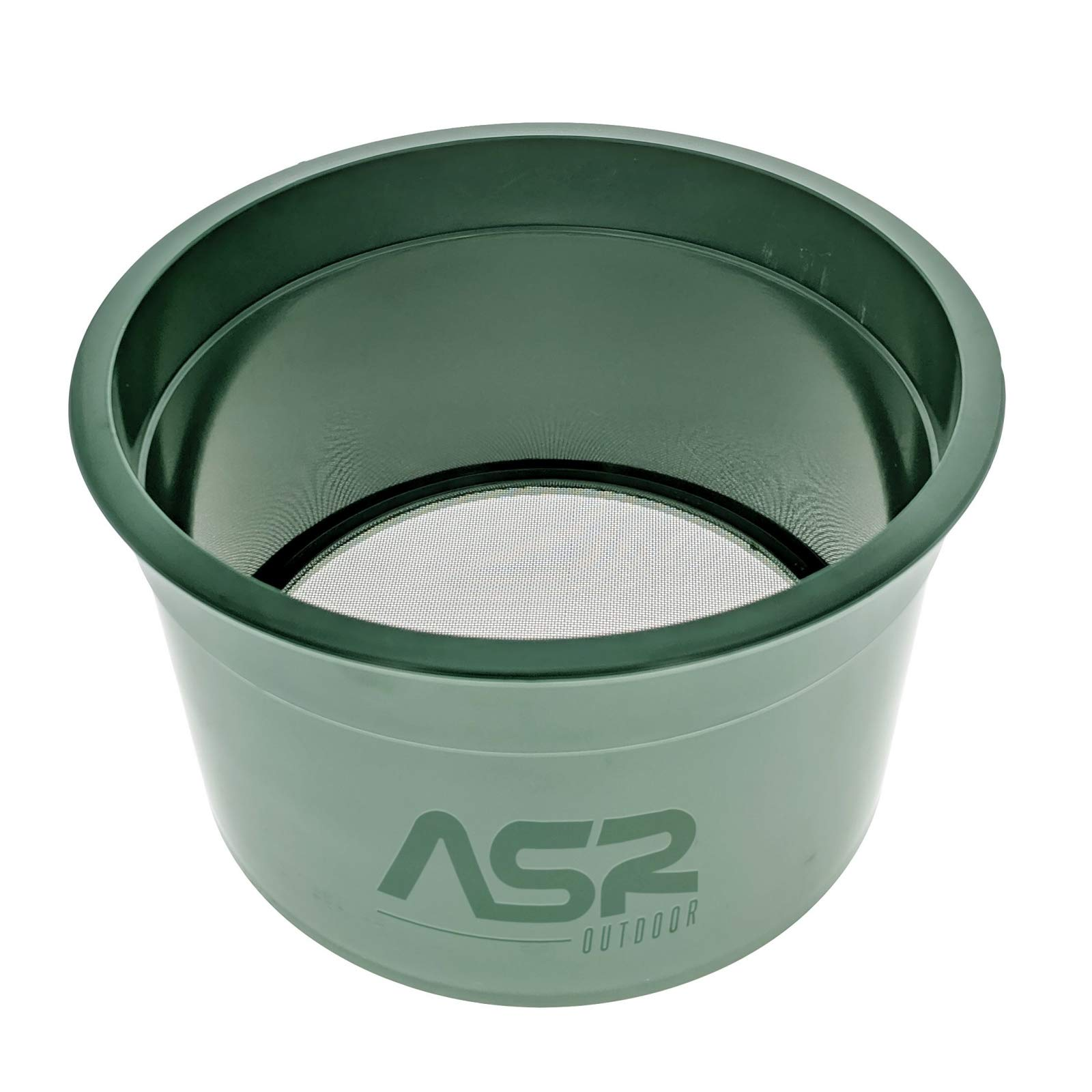 ASR Outdoor Gold Rush Sifting Classifier Sieve Mini 6 Inch Prospect Pan 50 Holes Per Sq Inch by ASR Outdoor