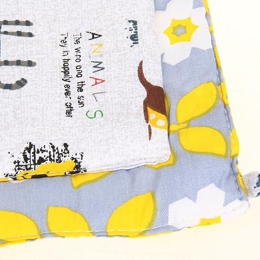 domybest beb/é cama cuna colgante bolsa de almacenamiento joyero organizador de pa/ñales pa/ñales con 9/bolsillos Yellow and White Flowers Talla:Style 1