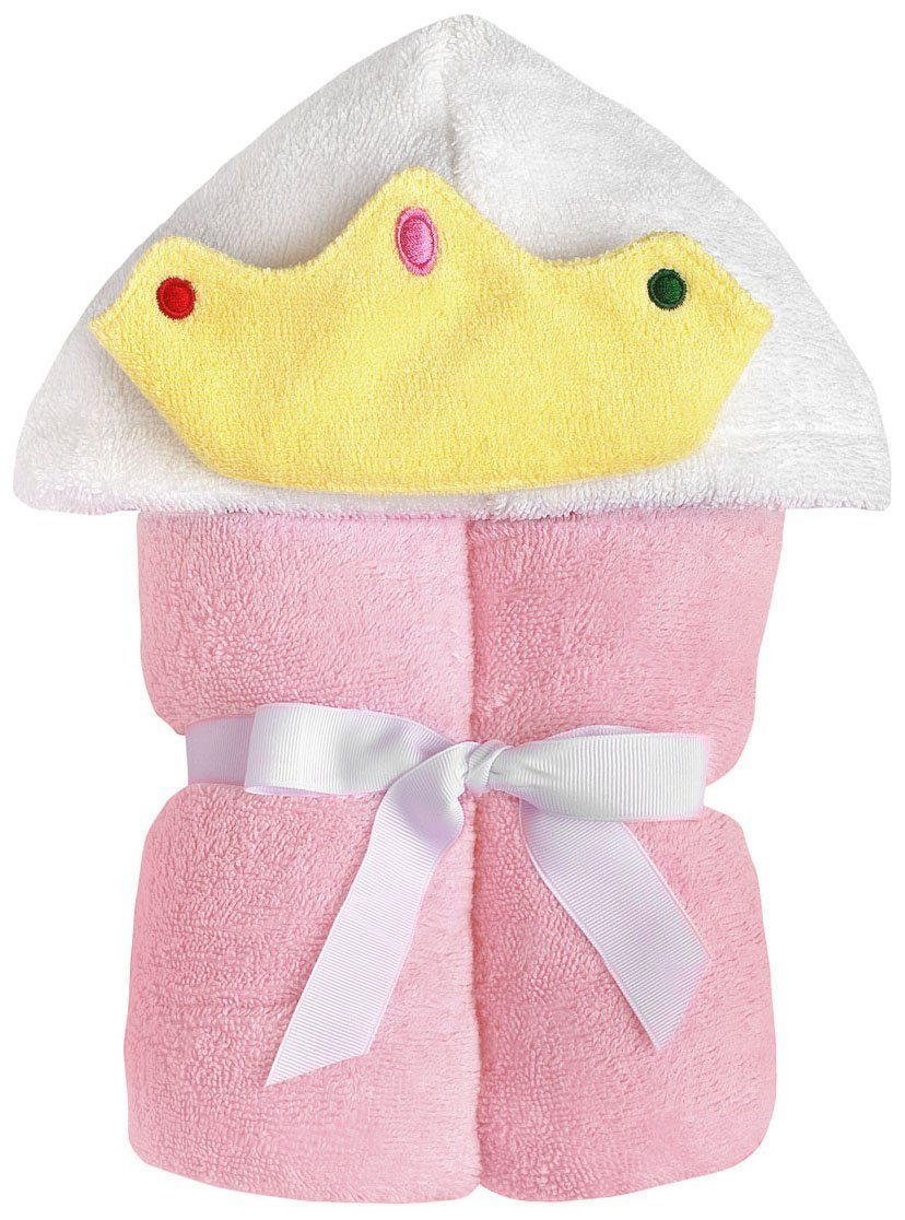 Yikes Twins Child Hooded Towel - Princess by Yikes Twins