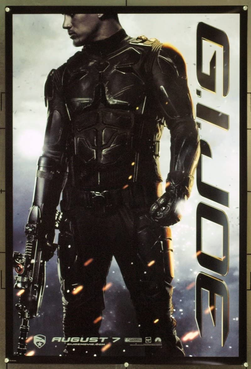 G I Joe The Rise Of Cobra 2009 Original Movie Poster 27x40 Very Fine Plus Condition At Amazon S Entertainment Collectibles Store