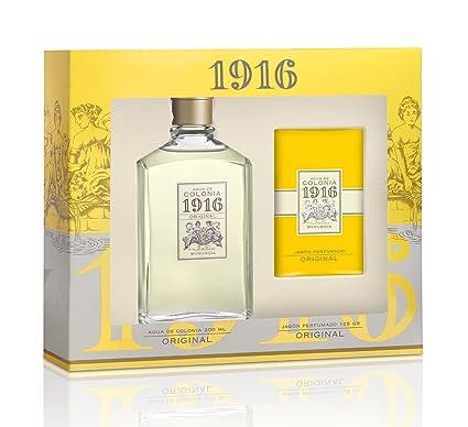 Agua de colonia 1916 - Estuche frasco 200+pastilla de .jabón ...