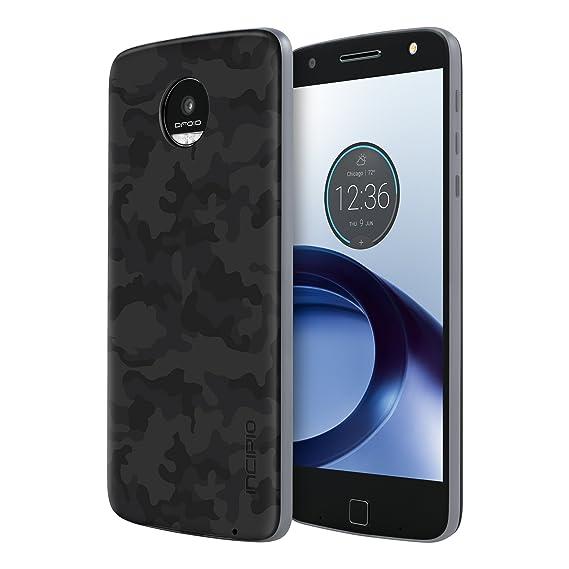huge selection of 3de2c 12f4b Moto Z Force Droid Case [Aluminum] Incipio Back Plate for Moto Z Force  Droid Smartphone - Camo Black