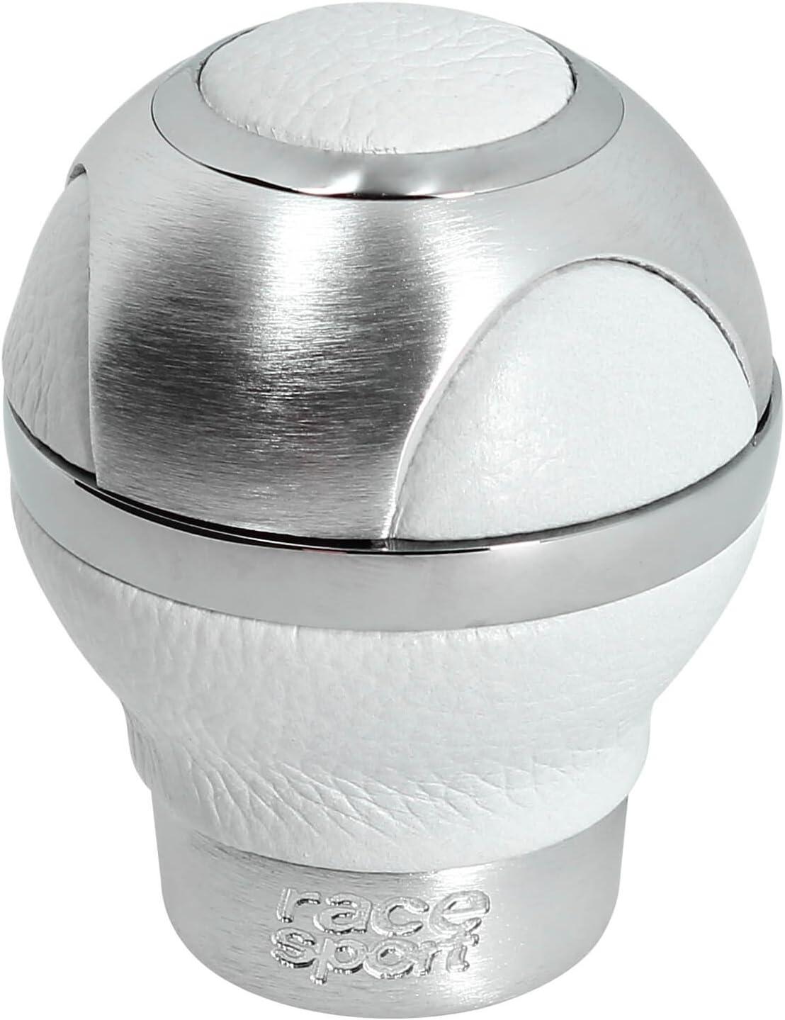 Blanco PielClassic Sumex 800086W Pomo Cambio Alu