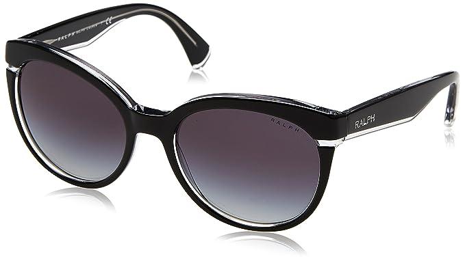 Amazon.com: Ralph Mujer ra5238 anteojos de sol, negro: Clothing