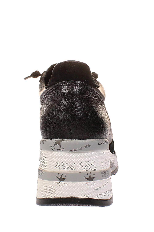 Cetti Cetti Cetti C1115 SRA - Damen Schuhe Plateau Turnschuhe - Space-schwarz 1e6b29