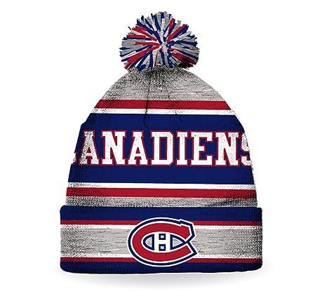 NHL Men s Montreal Canadiens Pom Pom Toque ( One-Size )  Amazon.ca  Luggage    Bags 3b4a90fb18a