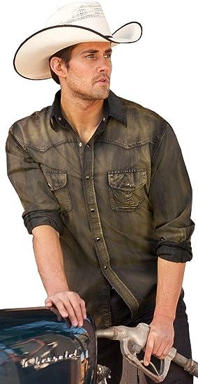 STARS & STRIPES - Camisa Casual - para Hombre Gris Small: Amazon.es: Ropa y accesorios
