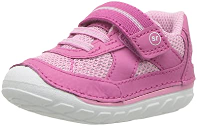 fbec58abf823 Stride Rite Girls  SM Jamie Sneaker Pink 3 Medium US Infant