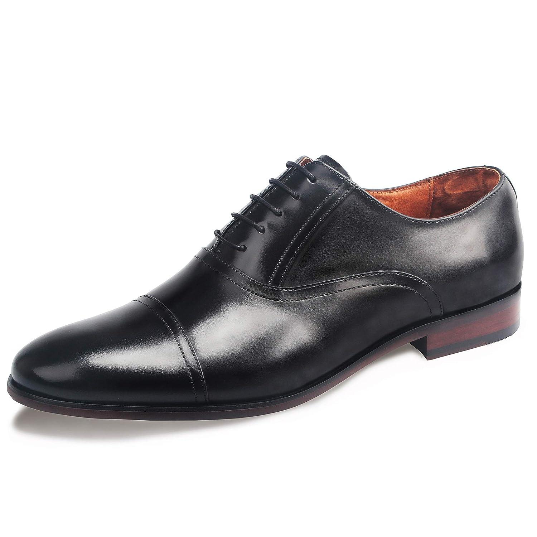 Desai Zapatos con Cordones de Cuero Hombre