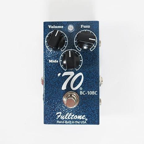 Fulltone 70 Pedal BC-108C · Pedal guitarra eléctrica: Amazon.es ...