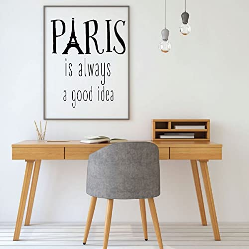 Amazoncom Eiffel Tower Wall Decal Paris Is Always A Good Idea