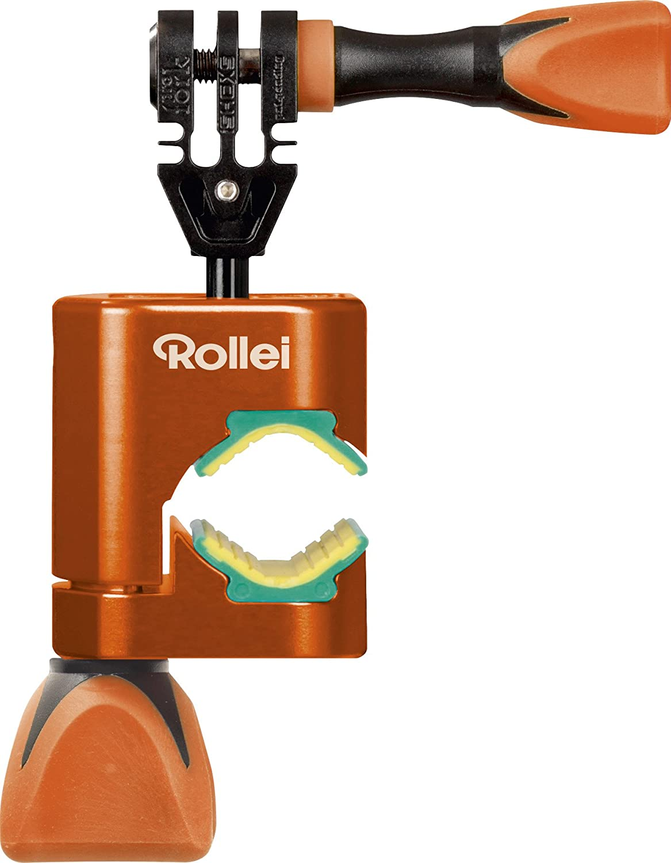 Rollei Cero Motorbike Mount Orange