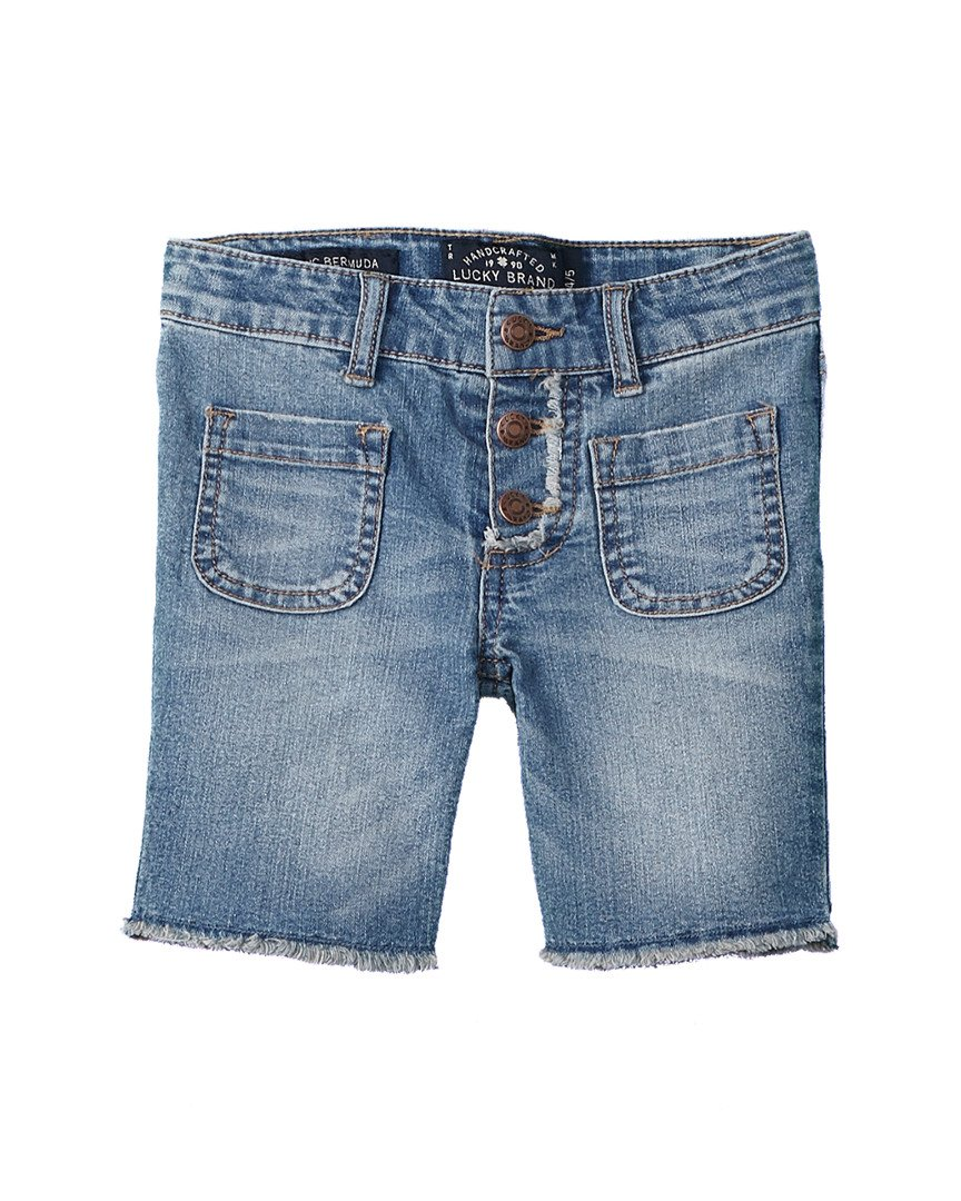 Lucky Brand Kids Girl's Vera Long Shorts (Little Kids) Ryder Wash 6