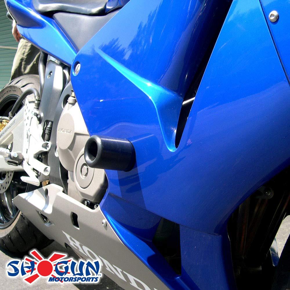 Shogun 2003 2004 2005 2006 Honda CBR600RR CBR600 Black Frame Sliders MADE IN THE USA 750-3309