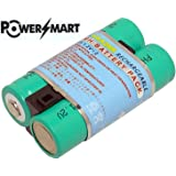 PowerSmart 2.4V 1.8Ah Replacement for Kodak KAA2HR Ni-MH Rechargeable AA Digital Camera Battery
