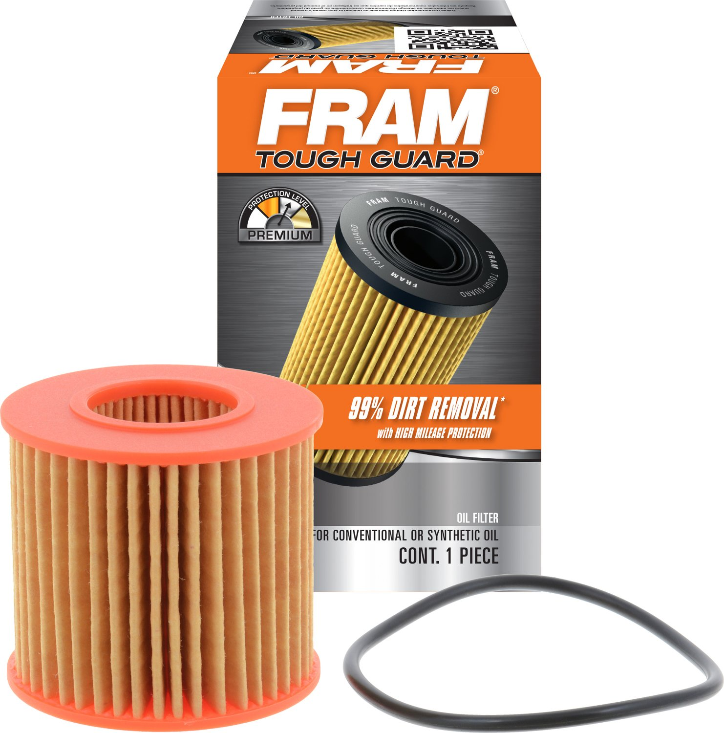 FRAM TG10358 Tough Guard Full-Flow Cartridge Oil Filter product image