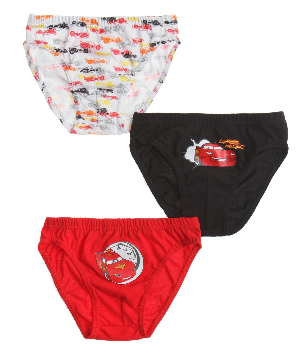 Disney Cars Boys 3 pack brief - red