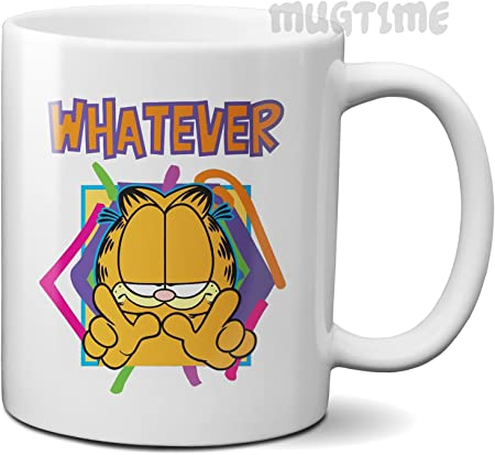 Details about Garfield Coffee Mugs and Cups, Garfield Funny Glass Mug