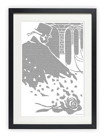 Amazon.com: The Phantom of the Opera poster - Typography Art Print ...