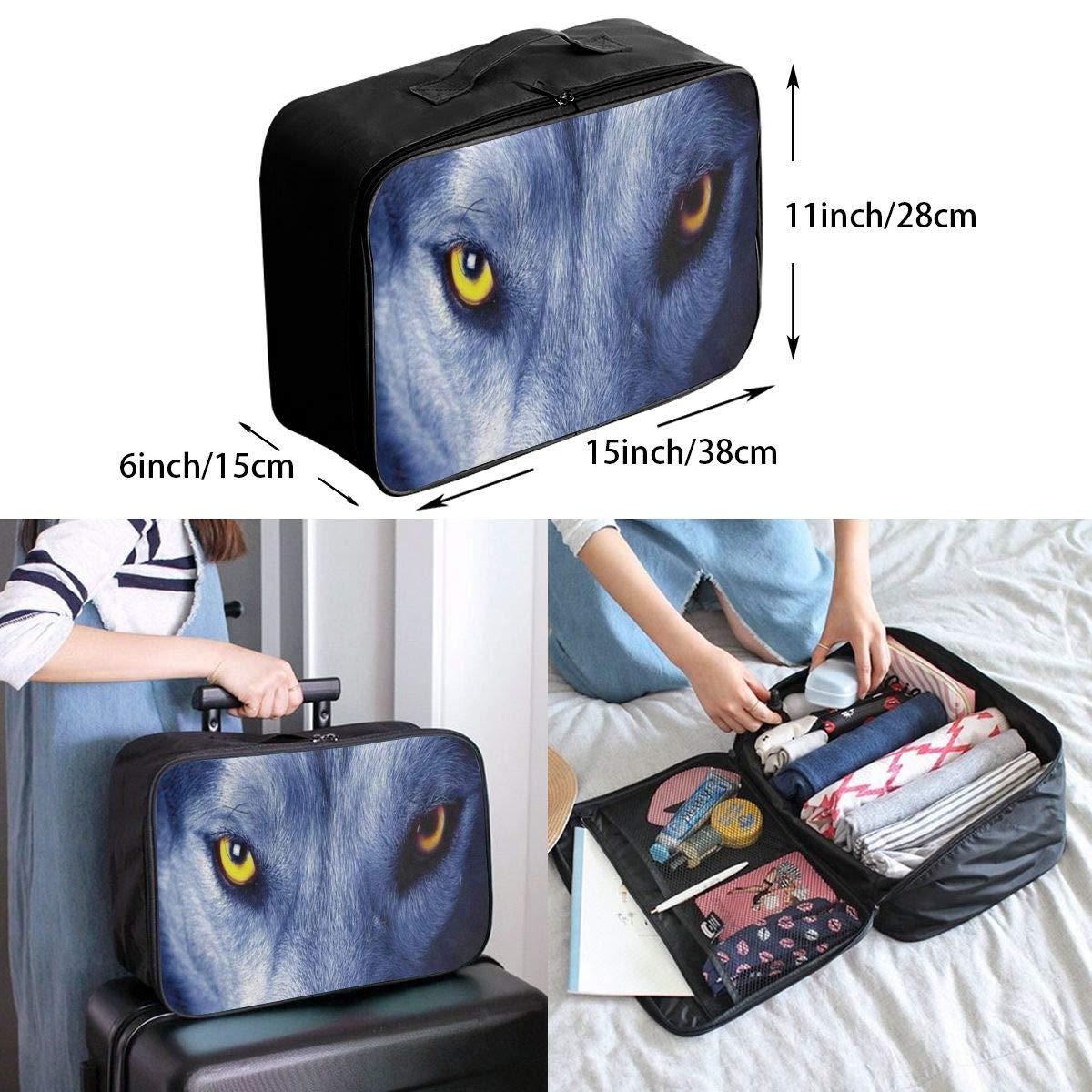 Travel Bags Wild Animal Tiger Portable Duffel Trolley Handle Luggage Bag