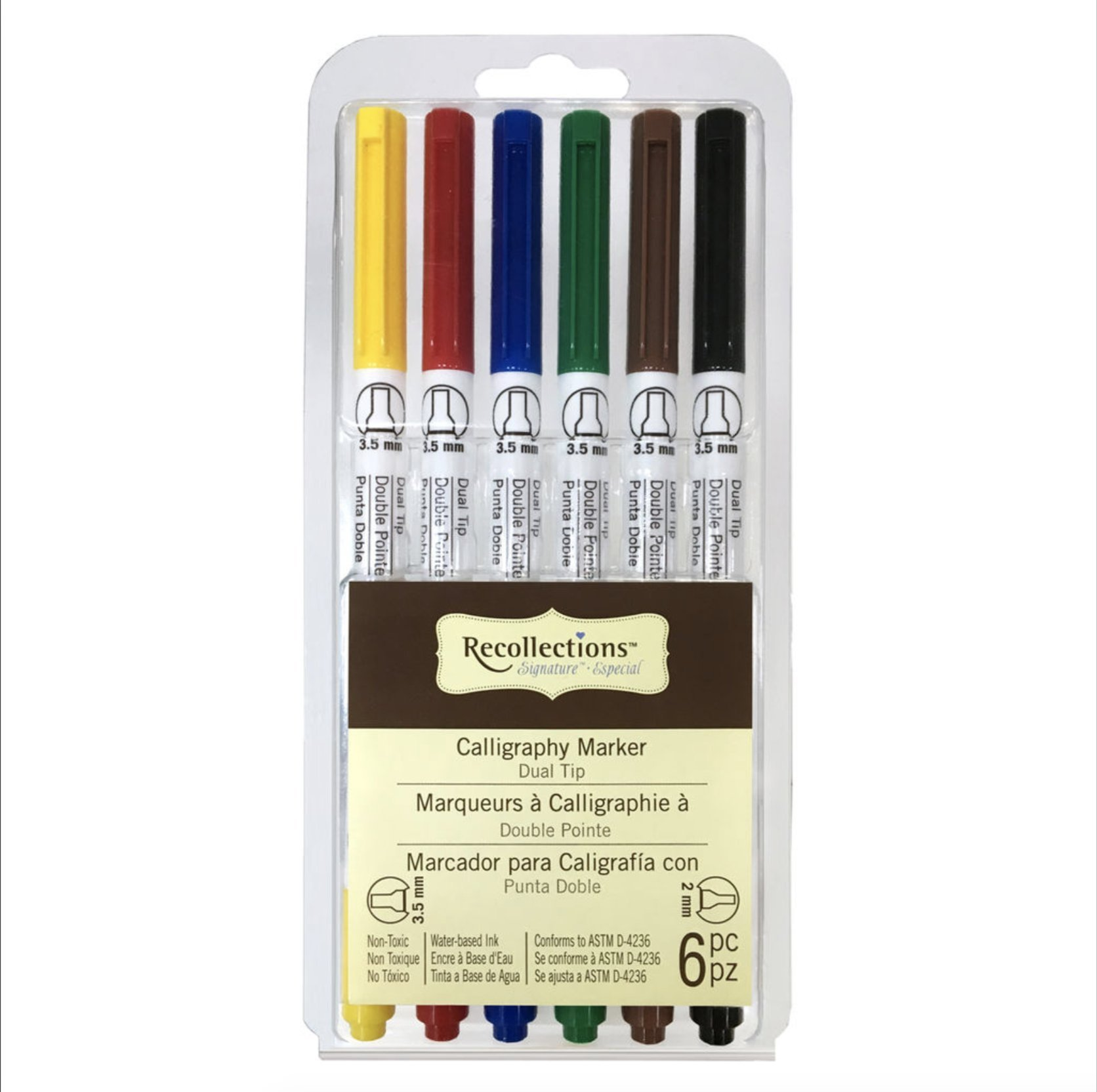 Signature Dual Tip Calligraphy Marker Set By Recollections by Recollections (Image #1)