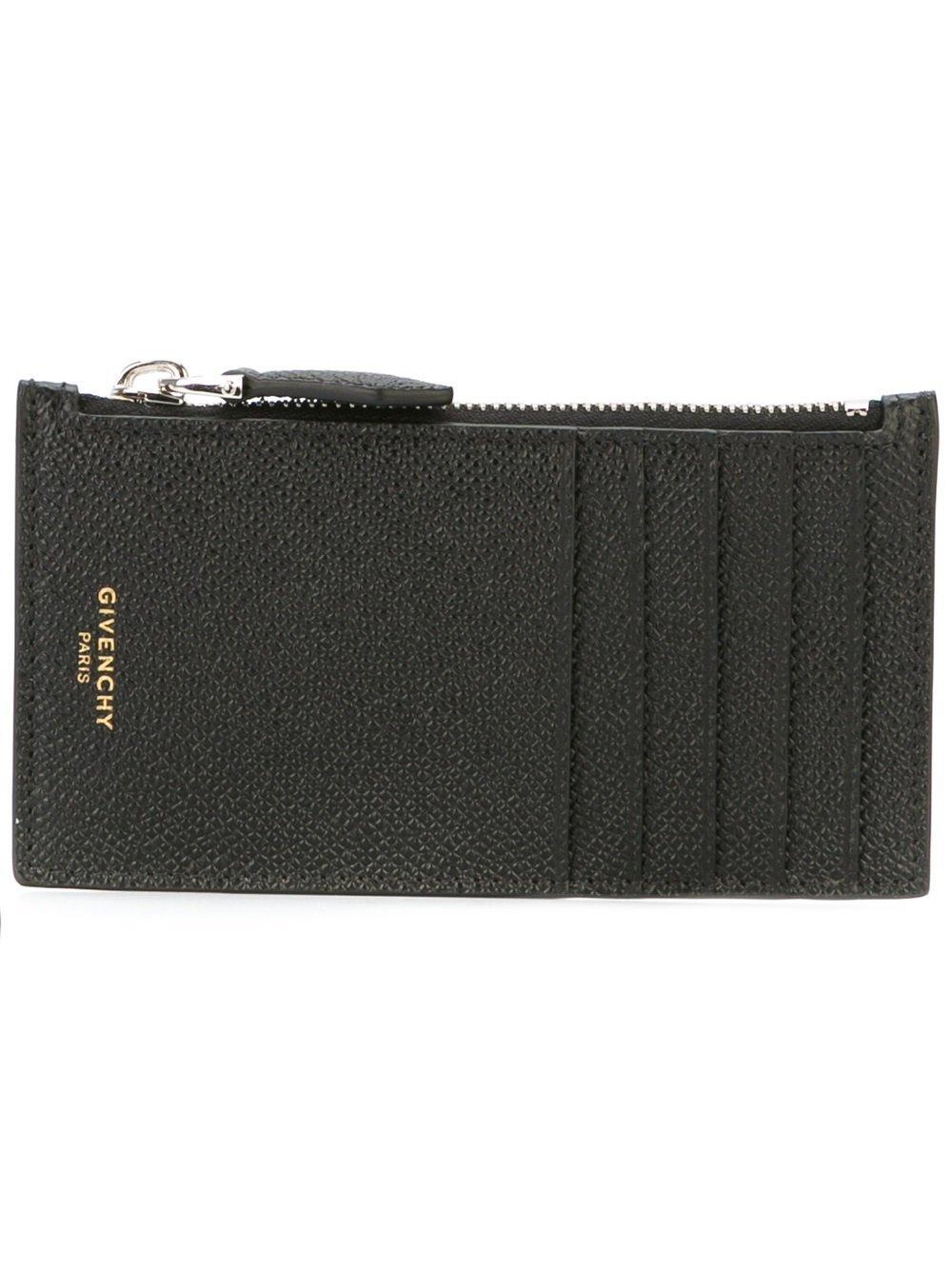 Givenchy Men's Bk06049121001 Black Leather Wallet