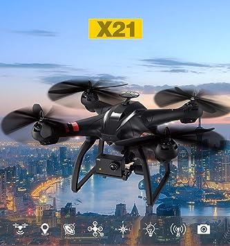 Drone X21 con cámara HD Transmisión de Imagen HD de 8 megapíxeles ...
