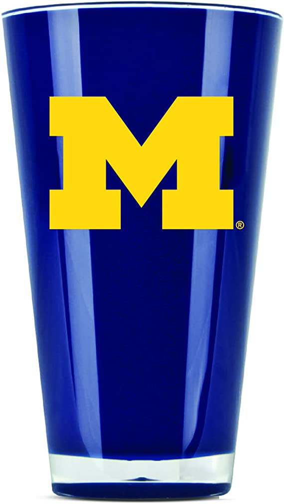 NCAA Michigan Wolverines 32-Ounce PolySub Sublimated Everlasting Tumbler with Lid