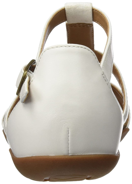 Clarks Damen Autumn Fresh Sandalen Sandalen Fresh Weiß (Weiß Combi Lea) 2a5017