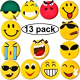 Emoji Fridge Magnets, 13 Set Strong Refrigerator Magnets for Whiteboard Calendar Maps, Perfect Home kitchen Decorative Magnet, Office Supplies for Presentation, Best Housewarming Gift for New Home.