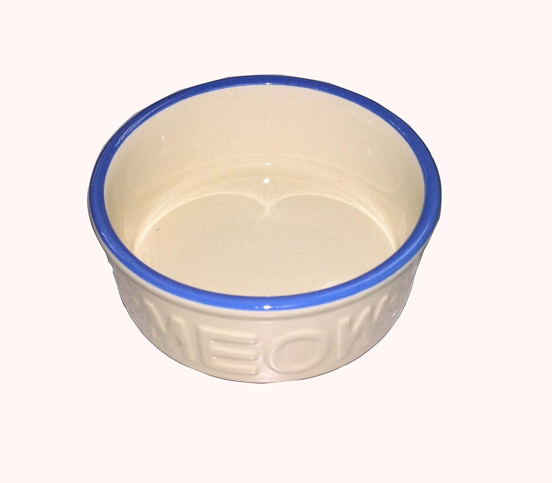 "Fixture Displays 5x5x2"" Ceramic Pet Bowl Highend Dog Cat Bowl Porcelain Dog Cat Feeder Puppy Bowl 12258-NF"