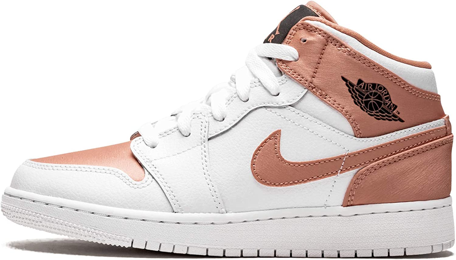 Nike Damen Air Jordan 1 Mid (Gs) Basketballschuhe