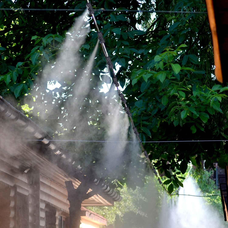 100 Stücke Garten Terrasse Hause Misting Kühlsystem Micro Sprühköpfe Düse Drop