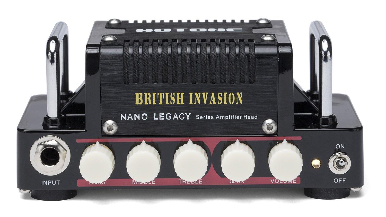 Hotone Nano Legacy British Invasion 5-Watt Compact Guitar Amp Head with 3-Band EQ TANLA1