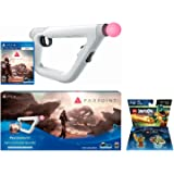 PSVR Aim Controller Farpoint Bundle + Lego Dimensions Cragger for Playstation 4 or PS4 Pro Console