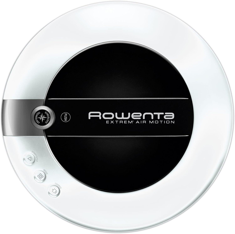 Rowenta RR7027 Sin bolsa 0.6L Negro, Color blanco aspiradora ...