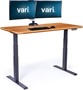 Vari Electric Standing Desk 60 - Sit to Stand Desk - Push Button Memory Settings