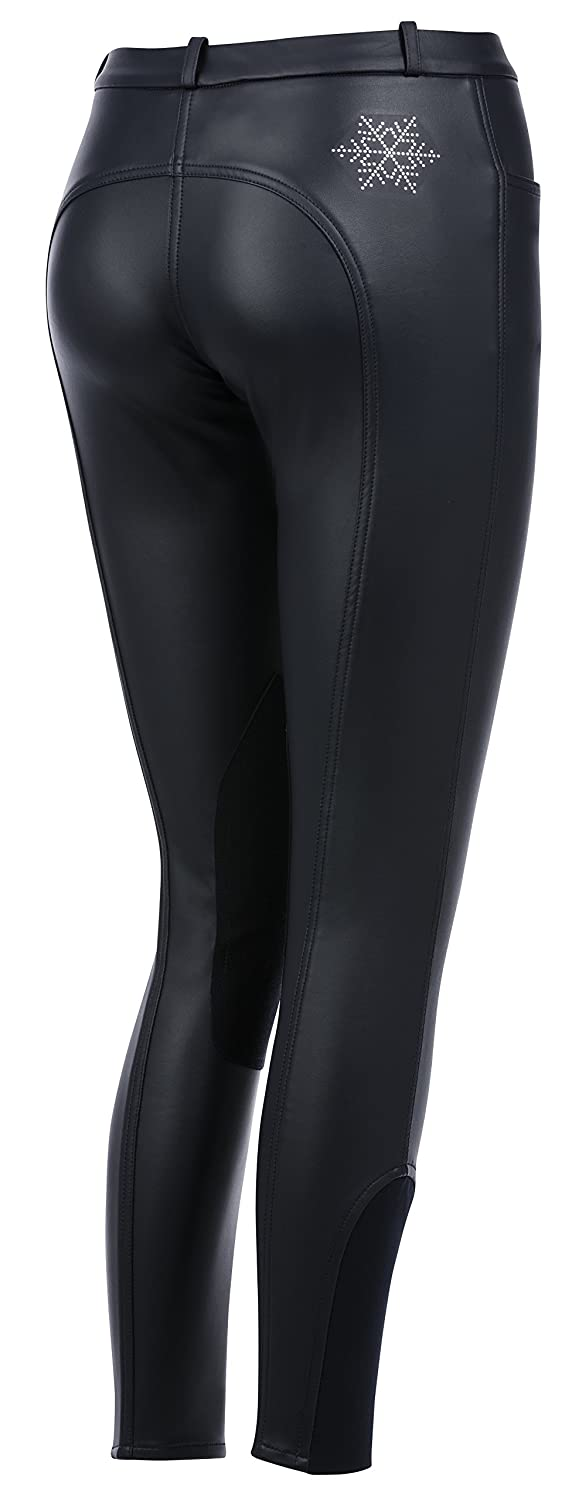 Belstar, Snowflake Winter Riding Breeches Waterproof and Breathable Material Black One Size 989191